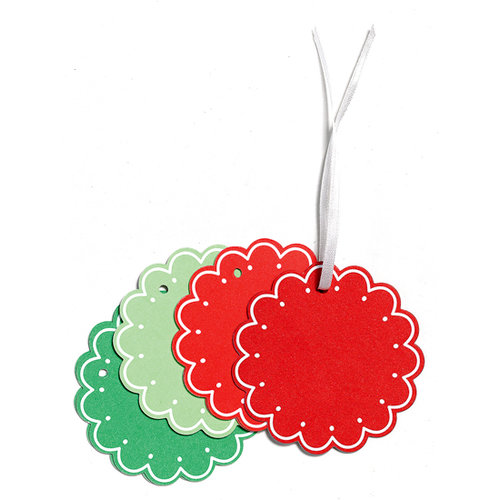 Martha Stewart Crafts - Holiday - Tags - Scalloped Shape, CLEARANCE