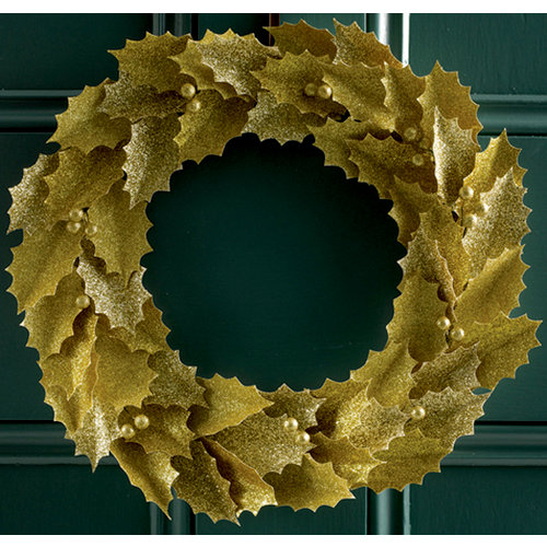 Martha Stewart Crafts - Holiday - Glittered Wreath Kit