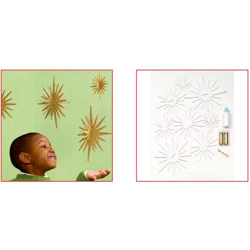 Martha Stewart Crafts - Holiday - Glittered Star Kit