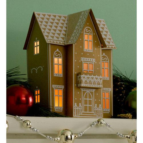 Martha Stewart Crafts - Holiday - Lantern Kit - Gingerbread House