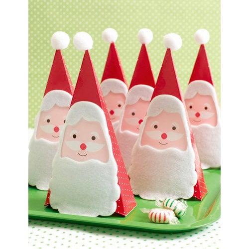 Martha Stewart Crafts - Holiday - Treat Boxes - Santa