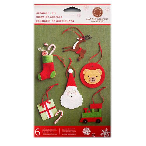 Martha Stewart Crafts - Holiday - 3 Dimensional Felt Toy Ornament Kit
