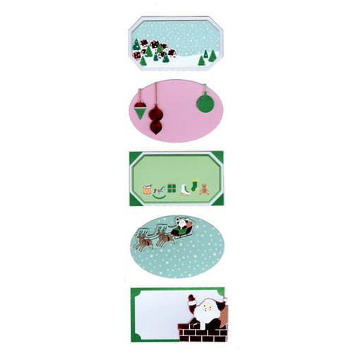 Martha Stewart Crafts - Holiday - Self Adhesive Labels - Vintage