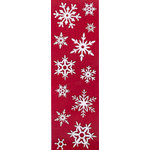 Martha Stewart Crafts - Holiday - Glitter Stickers - White Snowflakes, BRAND NEW
