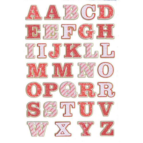 Martha Stewart Crafts - Holiday - Stickers - Traditional Alphabet