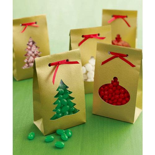 Martha Stewart Crafts - Holiday - Treat Bags - Tree Ornament