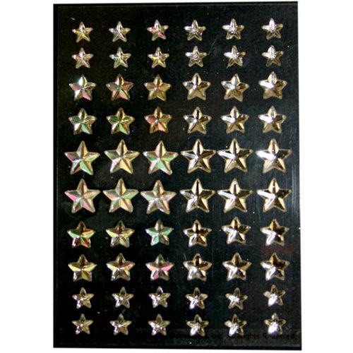 Martha Stewart Crafts - Holiday - Bling - Gemstone Stickers - Star, BRAND NEW