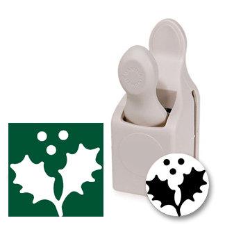Martha Stewart Crafts - Holiday - Craft Punch - Medium - Holly and Berries, BRAND NEW