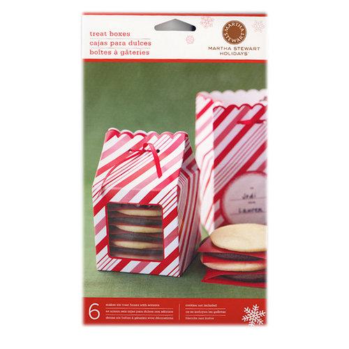 Martha Stewart Crafts - Holiday - Treat Box - Candy Cane, BRAND NEW