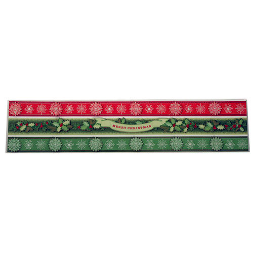 Martha Stewart Crafts - Holiday - Border Stickers - Holly