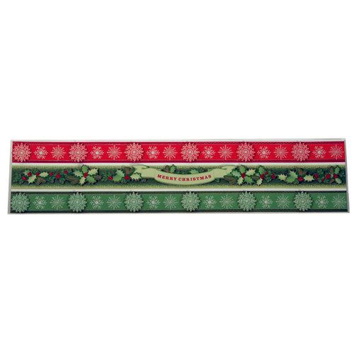 Martha Stewart Crafts - Holiday - Border Stickers - Holly