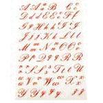 Martha Stewart Crafts - Holiday - Stickers - Elegant Alphabet, CLEARANCE