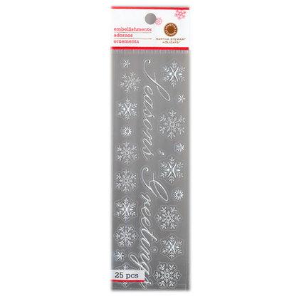 Martha Stewart Crafts - Holiday - Stickers - Elegant Seasons Greeting