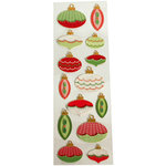 Martha Stewart Crafts - Holiday - Stickers - Elegant Ornamental