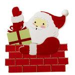 Martha Stewart Crafts - Holiday - Stickers - Large - Santa, BRAND NEW