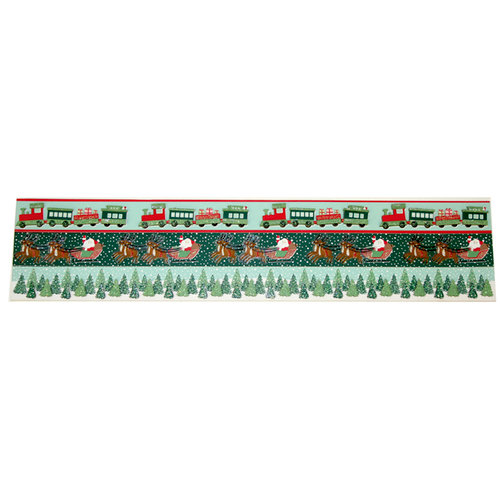 Martha Stewart Crafts - Holiday - Border Stickers - Vintage