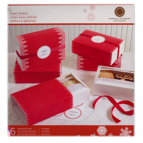 Martha Stewart Crafts - Holiday - Treat Match Box - Festive