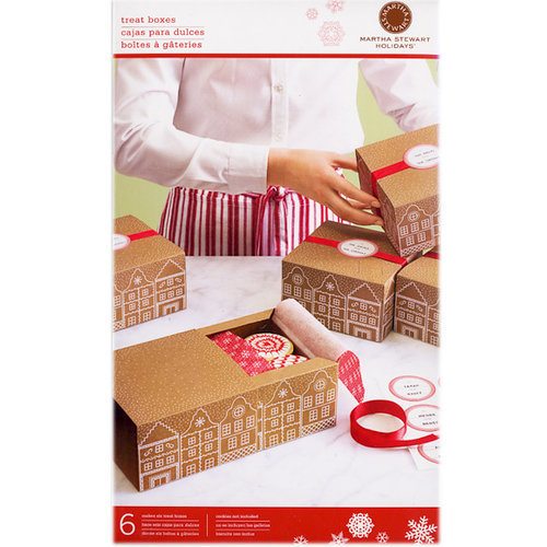 Martha Stewart Crafts - Holiday - Match Box - Gingerbread