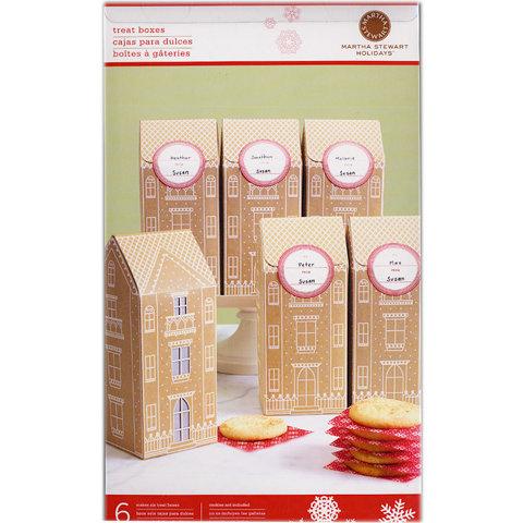 Martha Stewart Crafts - Holiday - Tall Box - Gingerbread