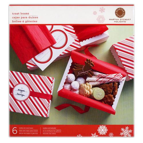 Martha Stewart Crafts - Holiday - Match Box - Candy Cane