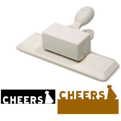 Martha Stewart Crafts - Edge Wing Punch - Cheers