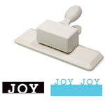 Martha Stewart Crafts - Holiday - Edge Wing Punch - Joy, CLEARANCE