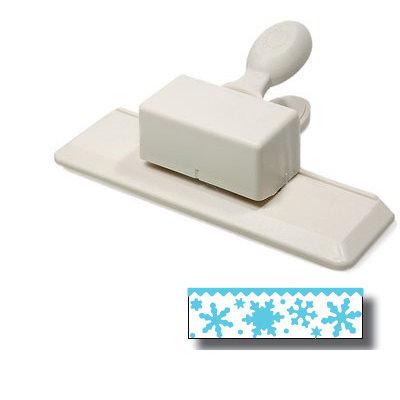 Martha Stewart Crafts - Holiday - Edge Wing Punch - Snow Flurry
