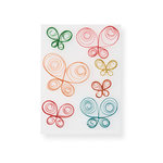 Martha Stewart Crafts - 3 Dimensional Stickers - Quilled Butterfly, CLEARANCE