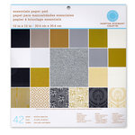 Martha Stewart Crafts - 12 x 12 Essentials Paper Pad - Neutrals