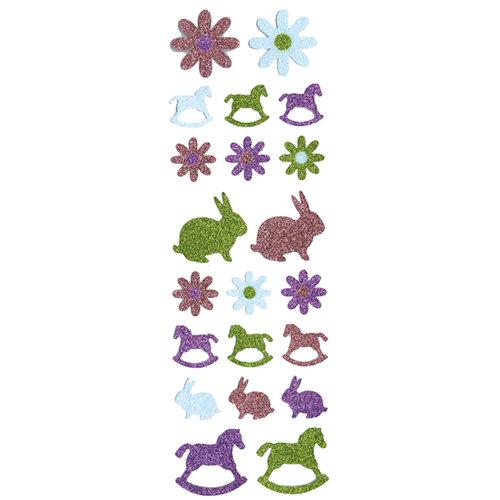 Martha Stewart Crafts - Glitter Stickers - Rocking Horse