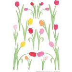 Martha Stewart Crafts - Stickers - Tulip - Pink and Orange, CLEARANCE