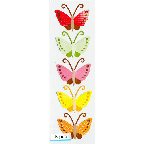 Martha Stewart Crafts - Patterned Cardstock Stickers - Butterfly, CLEARANCE