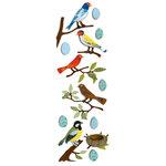Martha Stewart Crafts - 3 Dimensional Glittered Stickers - Bird