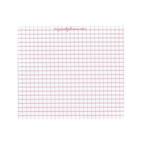 My Sweet Petunia - MISTI - Grid Paper Pad - Mini