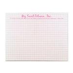 My Sweet Petunia - MISTI - Mousepad - 8.5 x 6.5