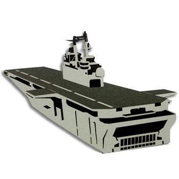 Memories In Uniform - Laser Cut - US Navy LHD Ship Wasp Class