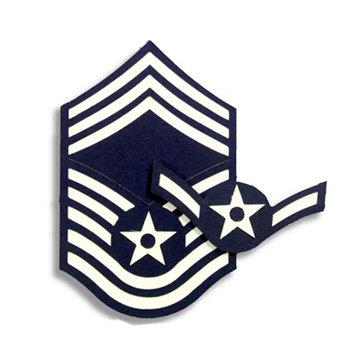 Memories In Uniform - Laser Cut - Air Force Enlisted Rank Kit