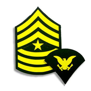 Memories In Uniform - Laser Cut - Army Enlisted Rank Kit