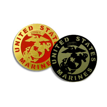 Memories In Uniform - Laser Cut - Marine Corps Service Emblem