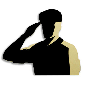 Memories In Uniform - Laser Cut - Army Hero Male