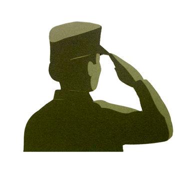 Memories In Uniform - Laser Cut - Marine Corps Hero Female