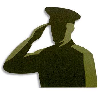 Memories In Uniform - Laser Cut - Marine Corps Hero Male