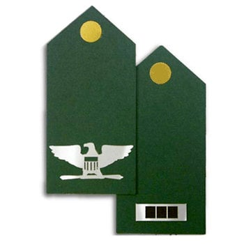 Memories In Uniform - Laser Cut - Army Officer Rank Kit