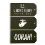 Memories In Uniform - Laser Cut - Marine Corps Tag Set