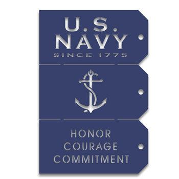 Memories In Uniform - Laser Cut - US Navy Tag Set