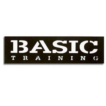 Memories In Uniform - Laser Cut - Basic Training Title