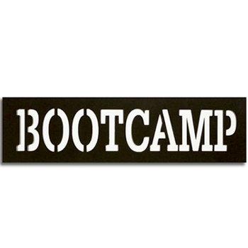 Memories In Uniform - Laser Cut - Boot Camp Title