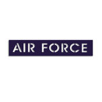 Memories In Uniform - Laser Cut - Air Force Title