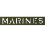 Memories In Uniform - Laser Cut - Marines Title