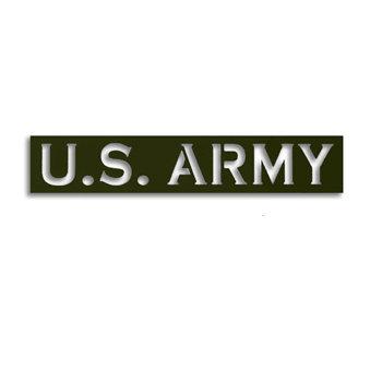 Memories In Uniform - Laser Cut - Army Title